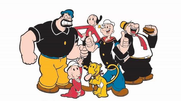 Popeye é o novo aliado da Fundação do Câncer nas campanhas pela prevenção e controle da doença