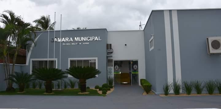 Presidente da Câmara de Vereadores de Pugmil, Jamesval Coelho realiza entrega da reforma da sede do Legislativo