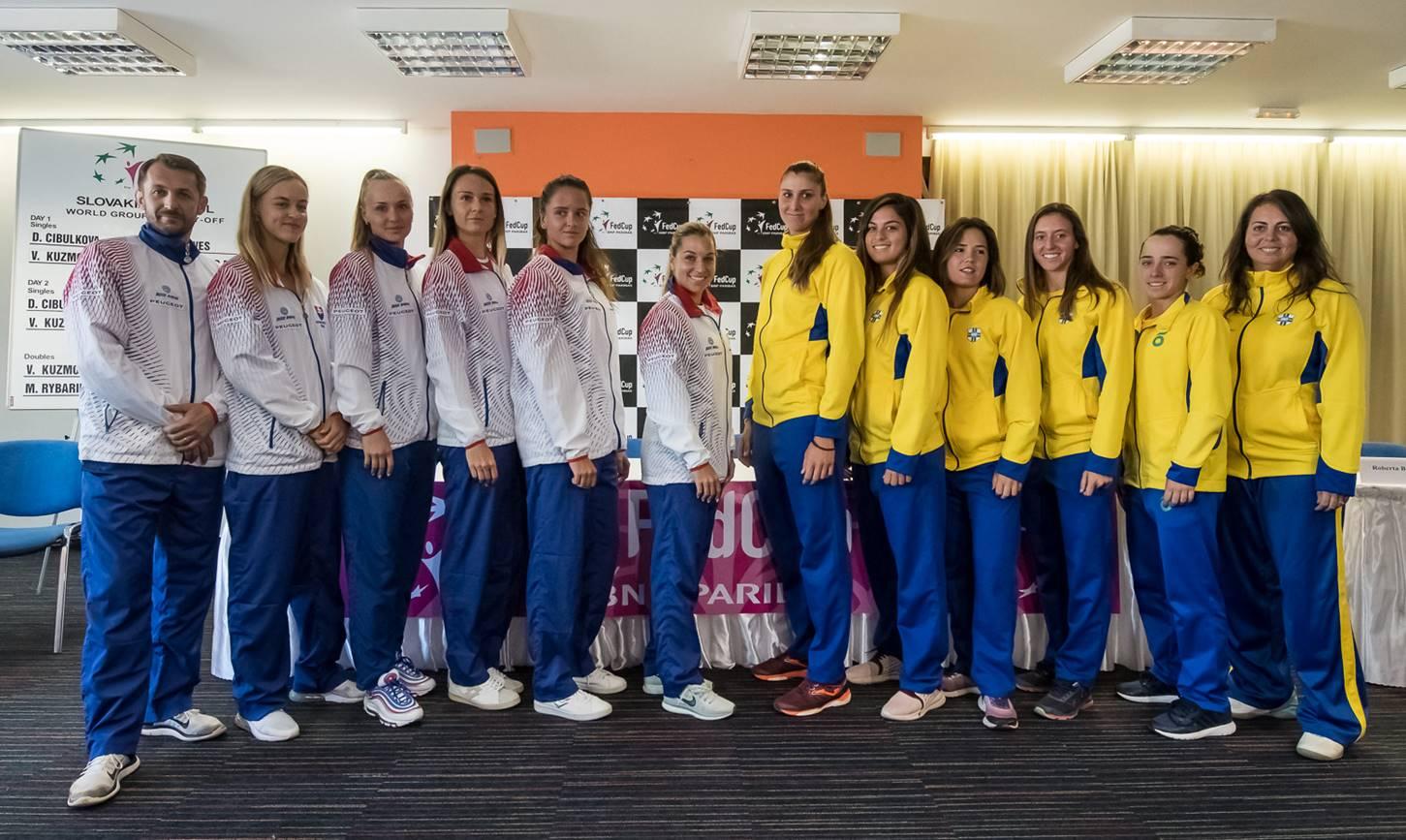 Brasil busca lugar entre os 16 melhores do mundo na Fed Cup