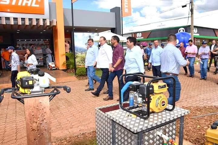 Wanderlei Barbosa integra comitiva em visita a Rio Verde na busca de investidores para o agronegócio no Tocantins