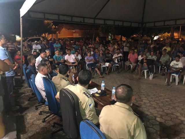 Comando do 9º BPM participa de audiência pública sobre segurança no trânsito em Esperantina
