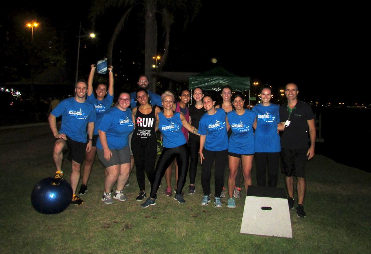 Desafio incentiva à prática esportiva e premia instituições de caridade em seis estados do Brasil