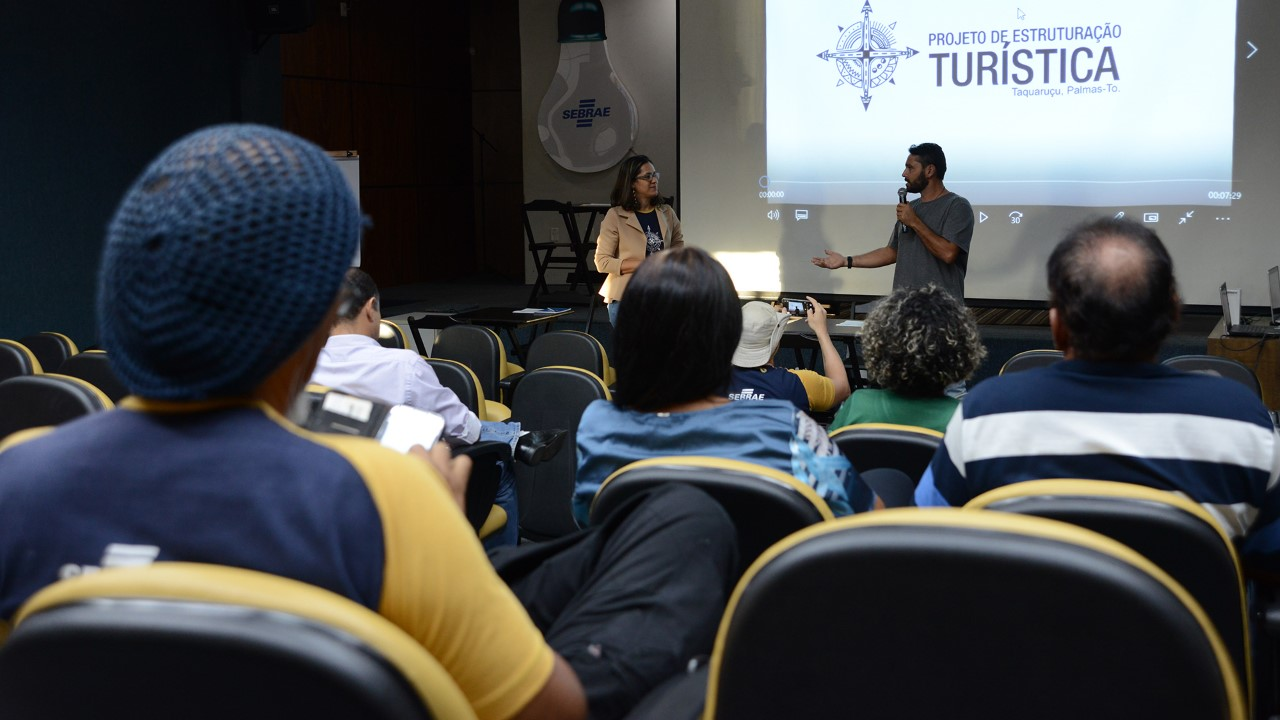 Empreendedores de Taquaruçu e Taquaruçu Grande participam de rodada de negócios com representantes do trade turístico da Capital