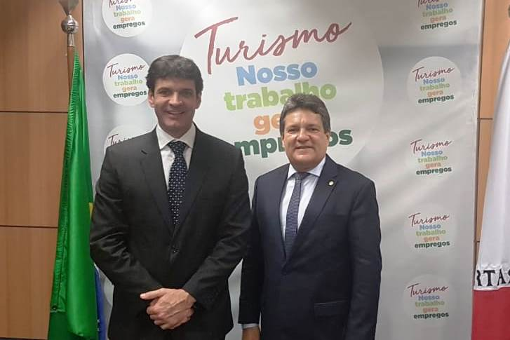 Damaso busca recursos para infraestrutura turística no Tocantins