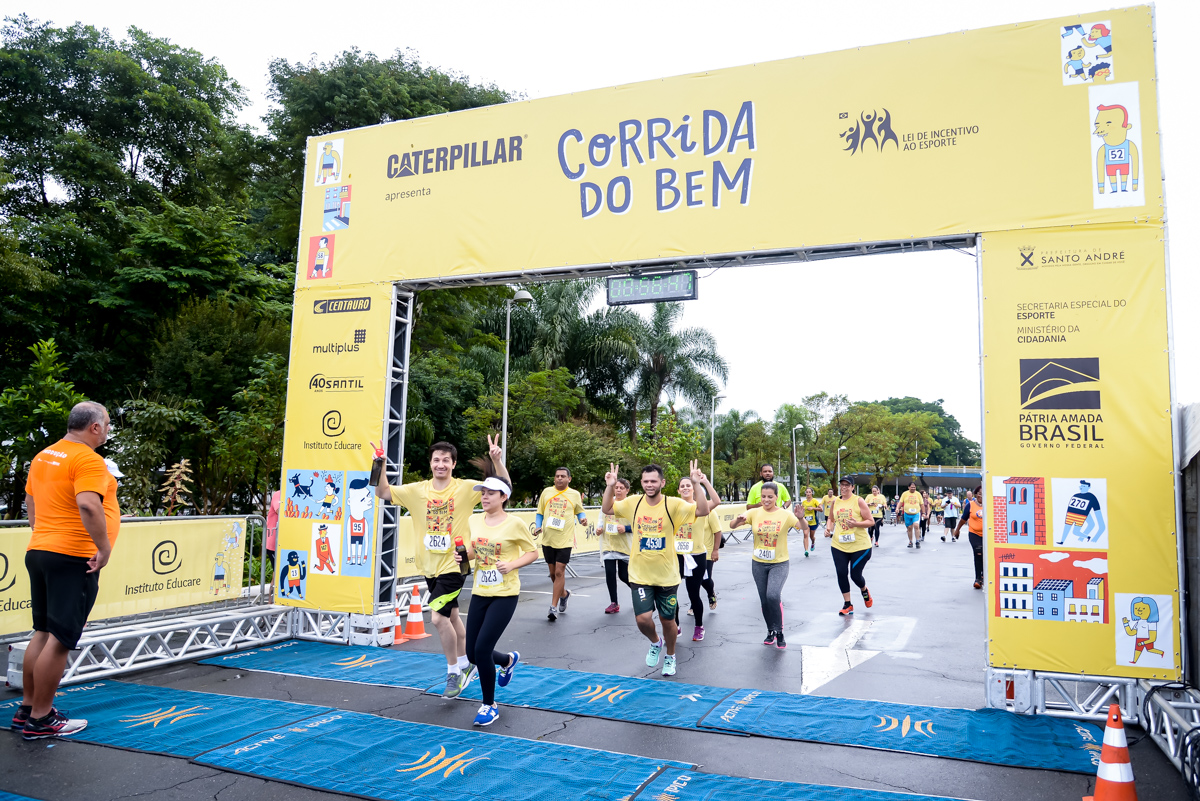 Campo Largo (PR) e Rio de Janeiro recebem etapas do Circuito Corrida do Bem este mês