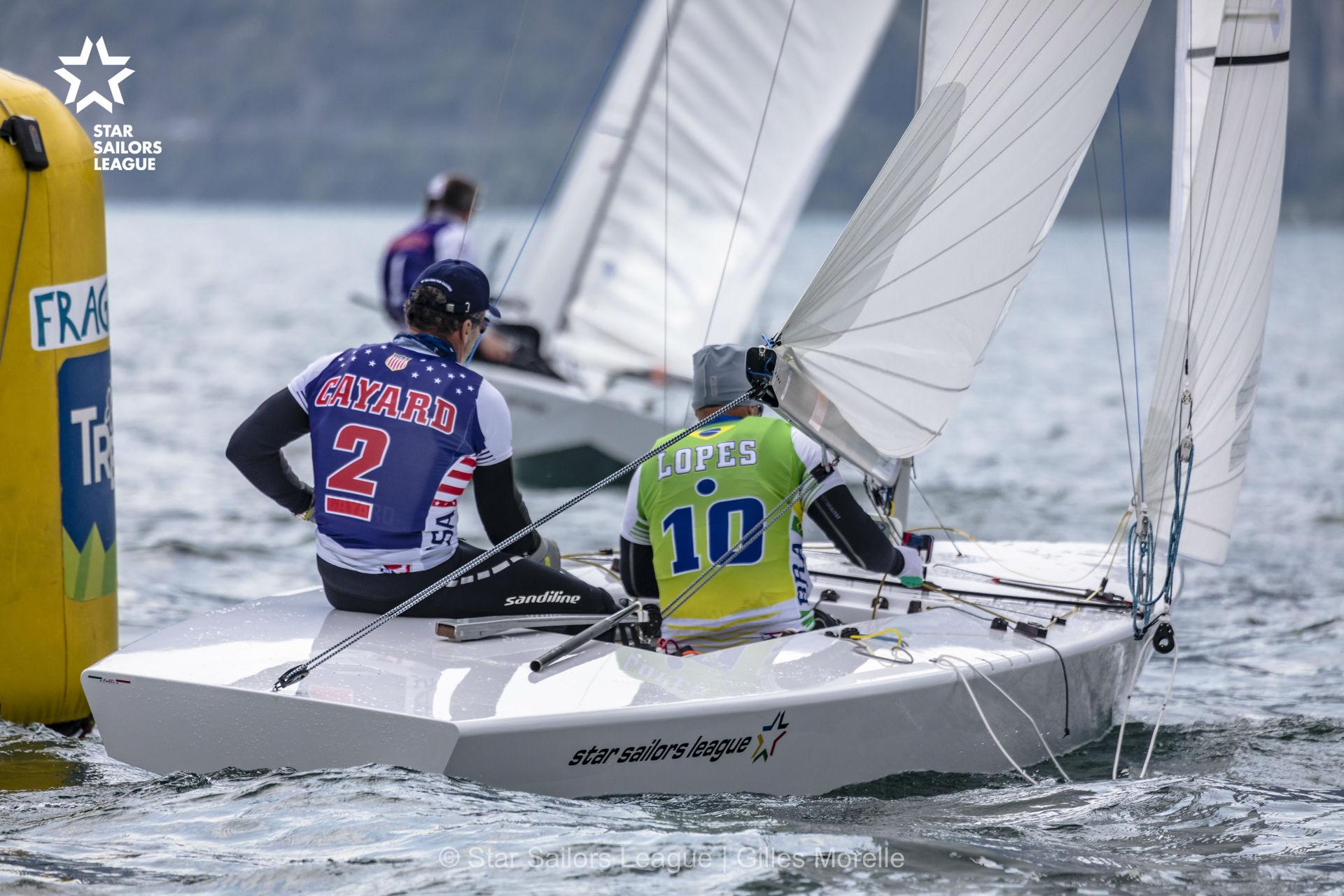 Três brasileiros perto das finais no Europeu da Star Sailors League na Itália