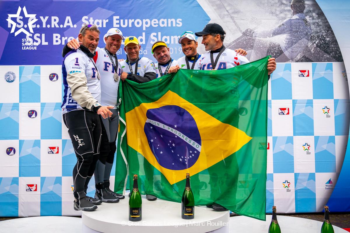 Brasil é tricampeão europeu da Classe Star na Itália por três segundos