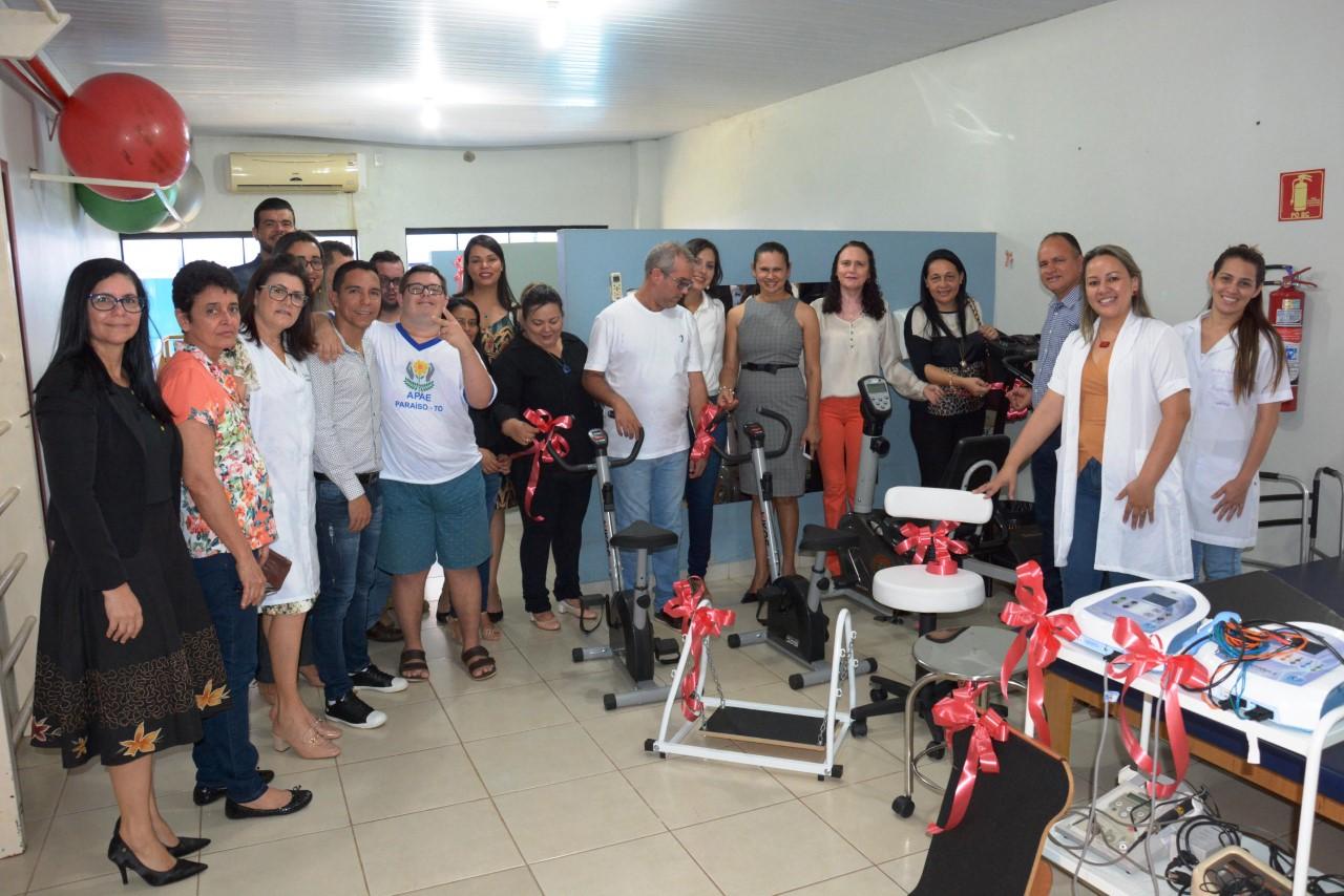 APAE Paraíso promove Solenidade de implantação do Teste da Orelhinha e da Climatização de 7 salas