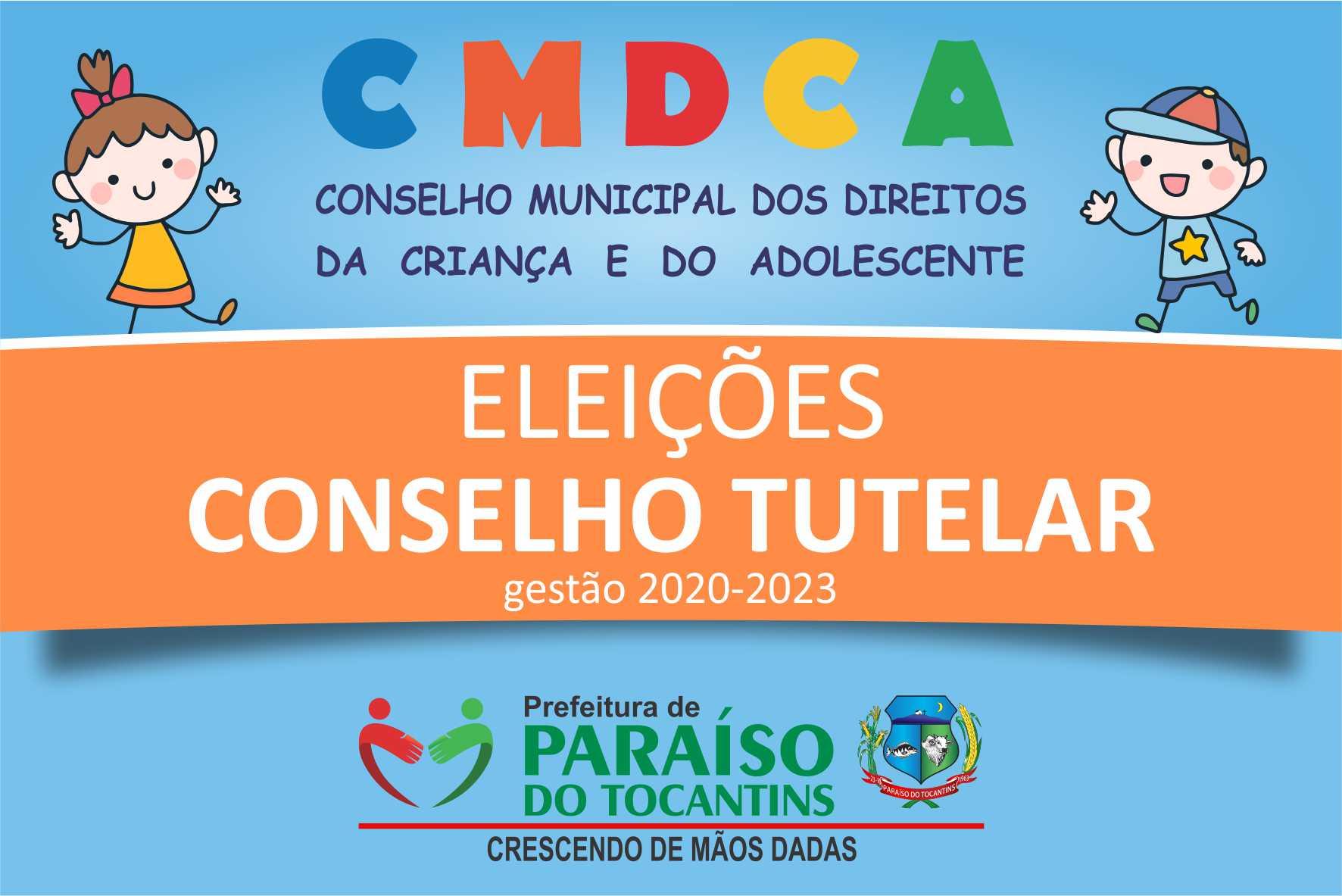 Divulgada lista de candidatos inscritos no processo de escolha para Conselheiros Tutelares