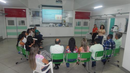 Articulação com equipe do serviço de portaria do HDT-UFT marca o Dia do Assistente Social