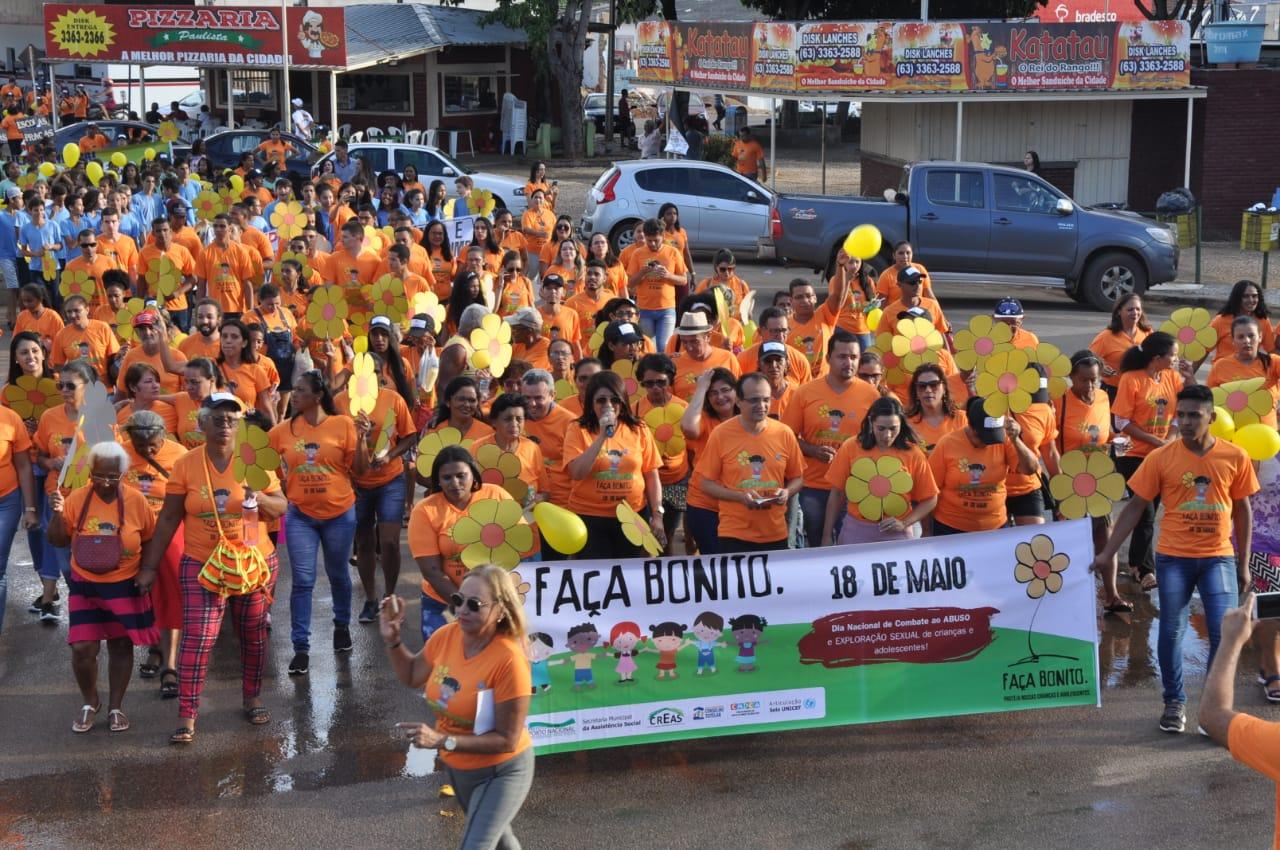 Caminhada marca o Dia Nacional de Combate ao Abuso e Exploração Sexual de Crianças e Adolescentes
