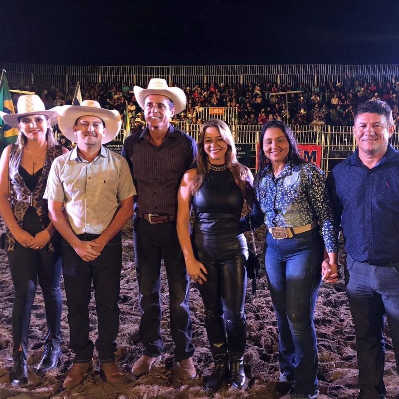 Na Expoagro, Nilton Franco anuncia emenda para obras de pavimentação do Parque de Exposições de Barrolândia