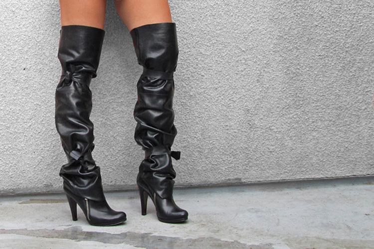 Over the knee: o calçado do inverno