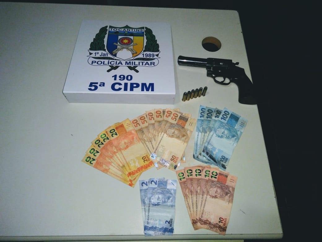 Em Tocantinópolis Polícia Militar localiza veículo roubado