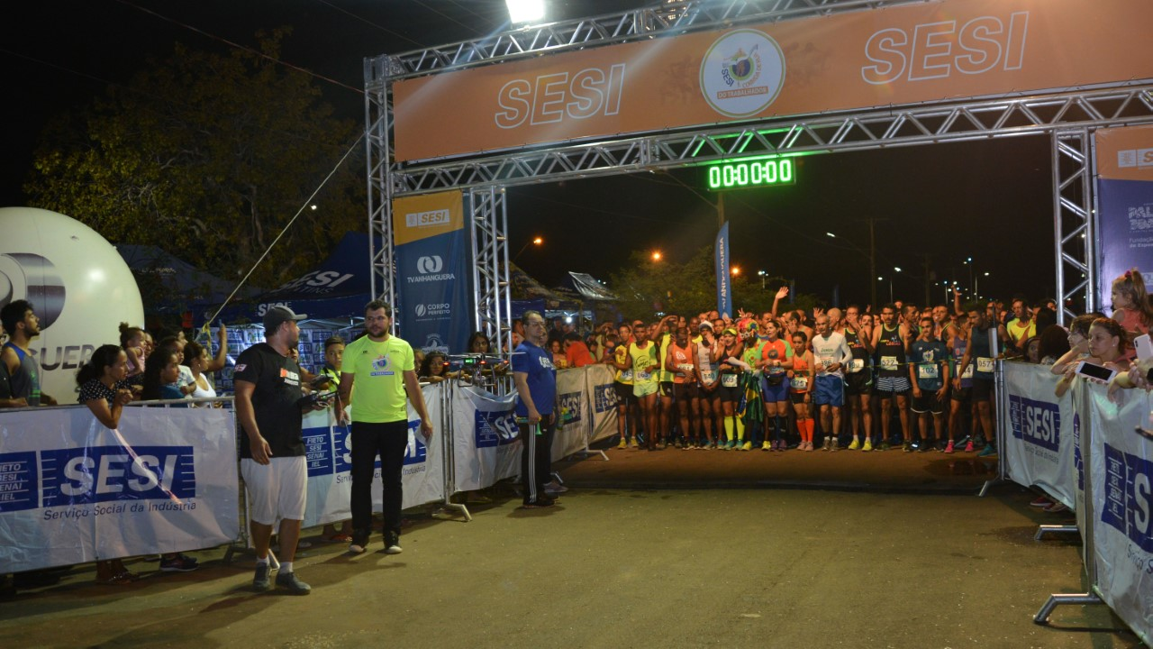 Corrida em homenagem aos trabalhadores abre o Circuito Virgílio Coelho