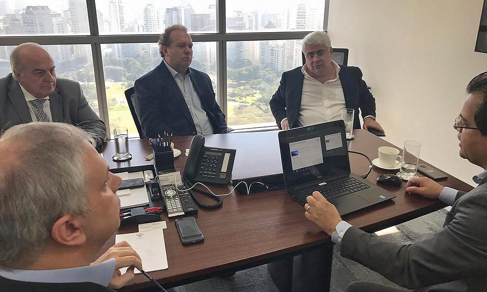 Governador Carlesse apresenta potencial do Tocantins em São Paulo para atrair investidores