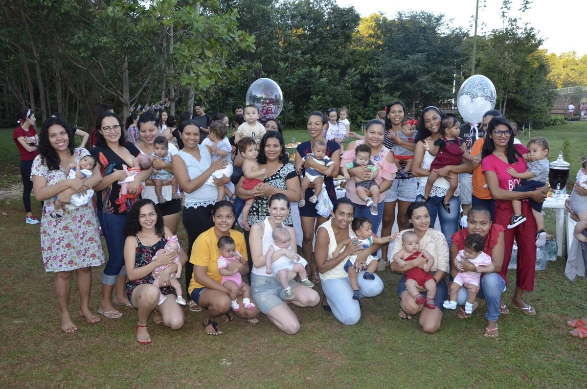 Doadoras de leite materno são homenageadas pelo Banco de Leite do Dona Regina