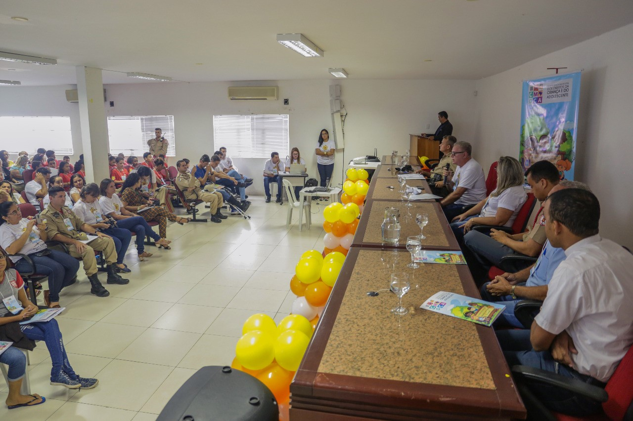 2ª Conferência Municipal dos Direitos da Criança e do Adolescente foi realizada em Gurupi