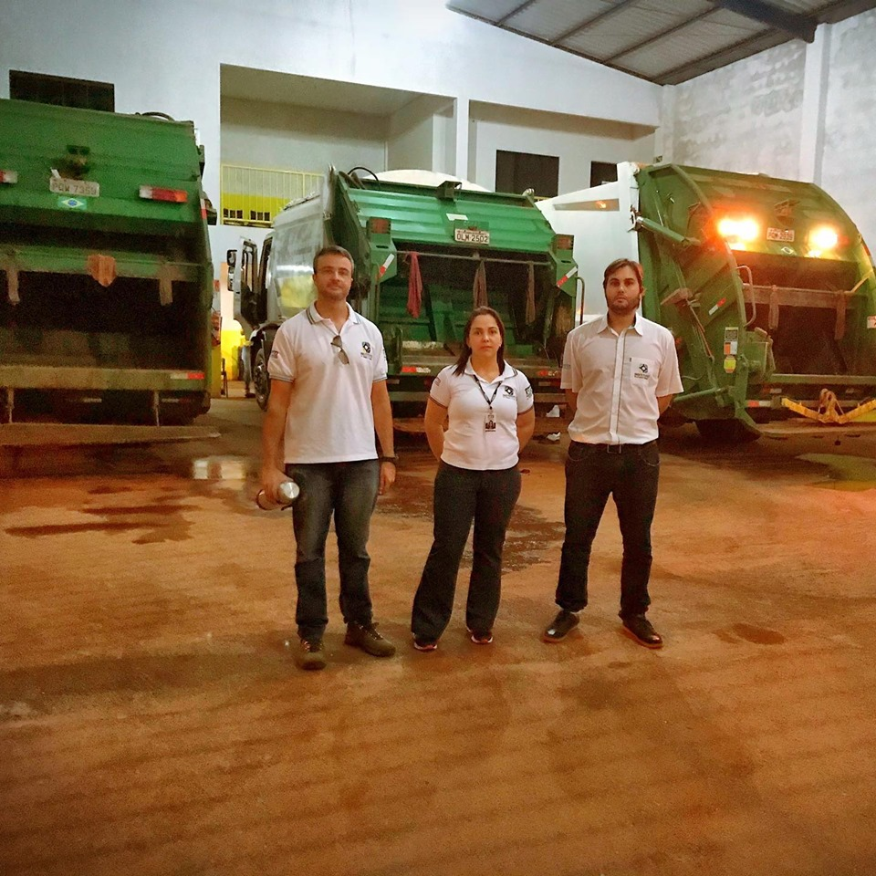 Equipe do IAC monitora as atividades de limpeza urbana e coleta de resíduos em Paraíso
