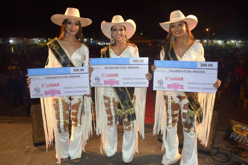 Ana Clara Resende é eleita Garota ExpoCristal 2019