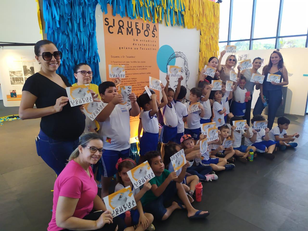 Exposição Siqueira Campos encerra nesta sexta-feira, 28