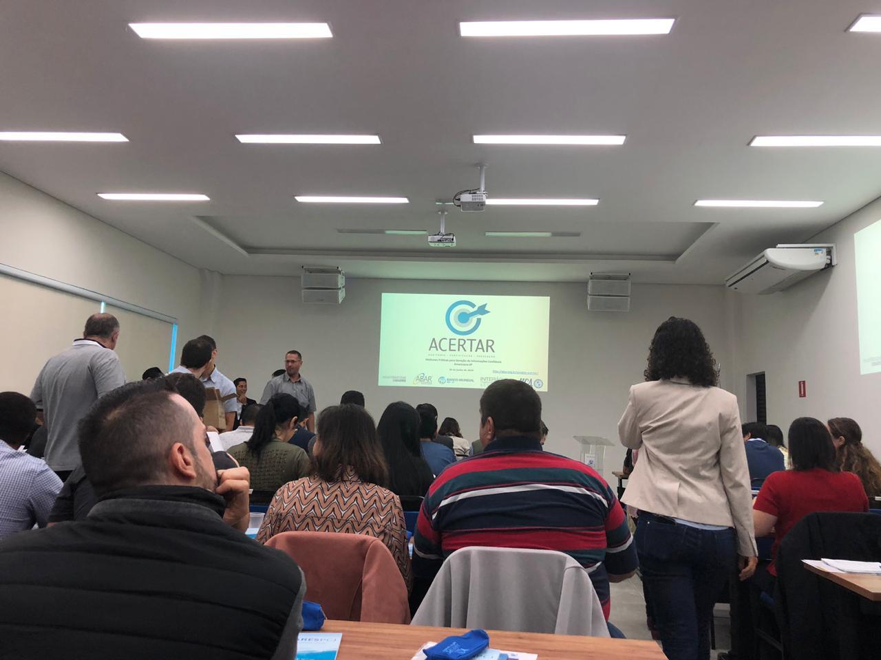 Agência de Regulação do Município participa de reunião da Câmara Técnica de Saneamento Básico e Recursos Hídricos, em SP