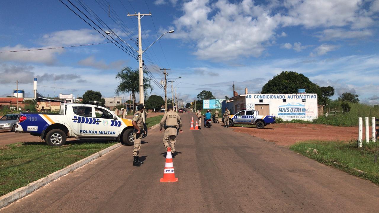 Abordagem da PM resulta em prisão de homem com Mandado de Prisão em Paraíso do Tocantins