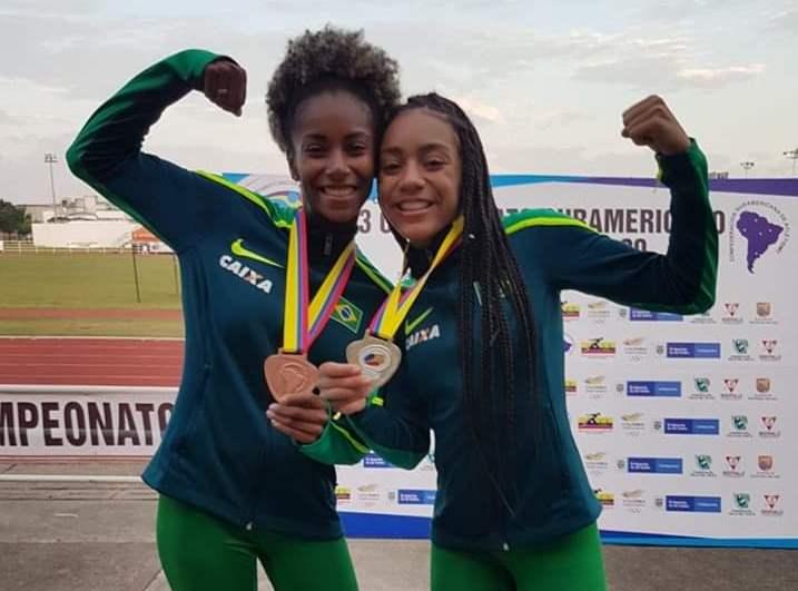 Tocantinense Paloma Dias fatura bronze no Sul-Americano de Atletismo na Colômbia
