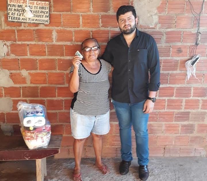 Vereador Ataíde Rodrigues atinge marca de R$ 28,5 mil doados a entidades assistenciais e pessoas carentes de Paraíso
