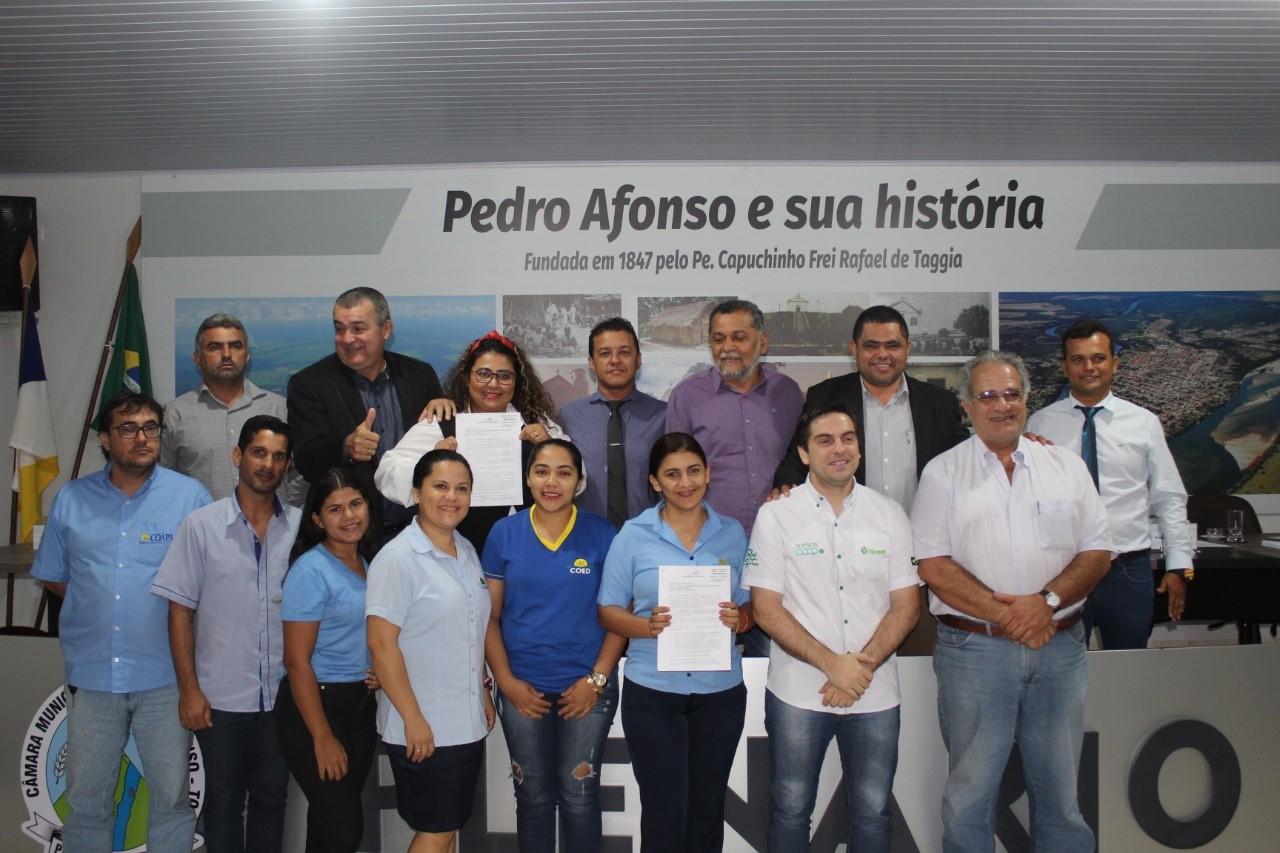 Câmara de Pedro Afonso aprova lei que institui a Política Municipal de Apoio ao Cooperativismo