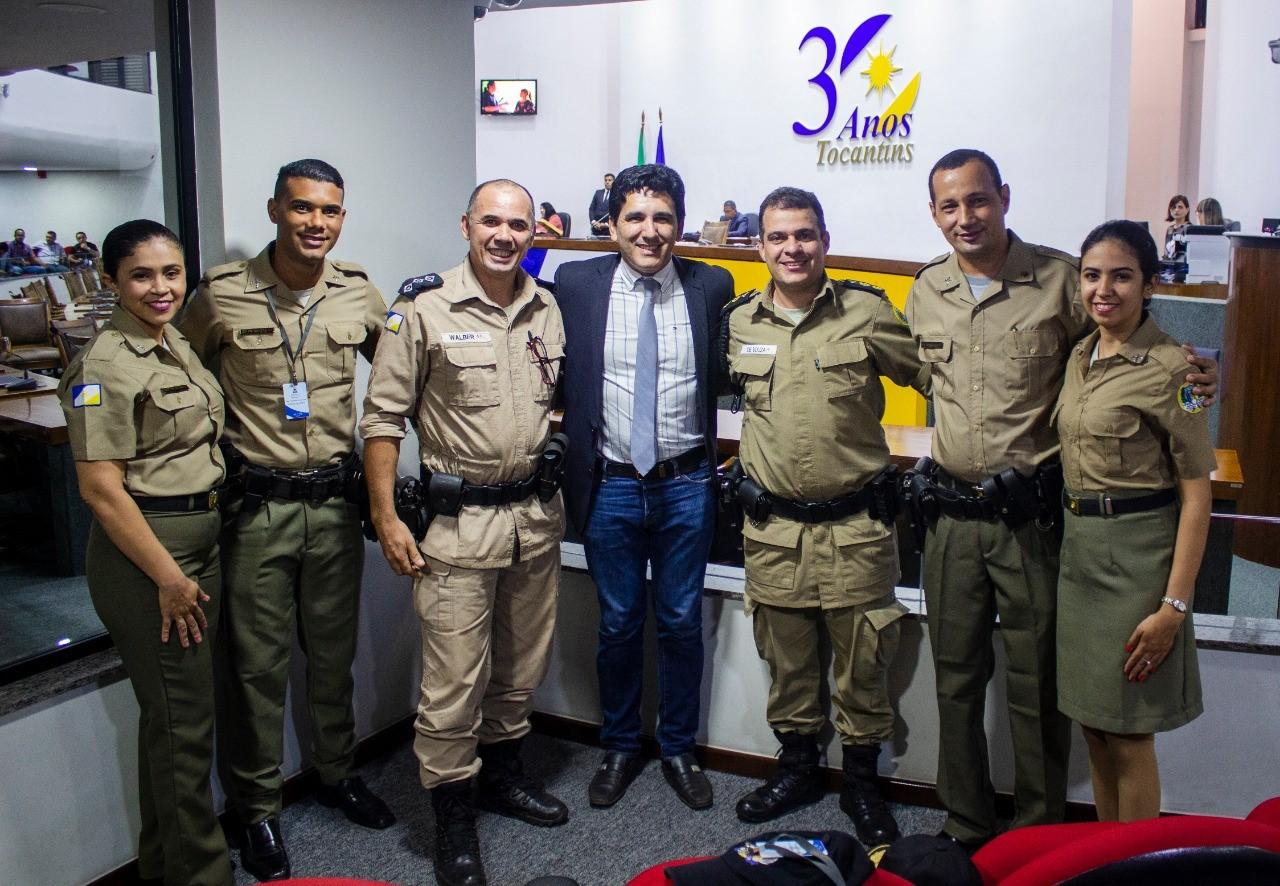 Prof. Júnior Geo parabeniza trabalho desenvolvido pela Polícia Militar com o PROERD