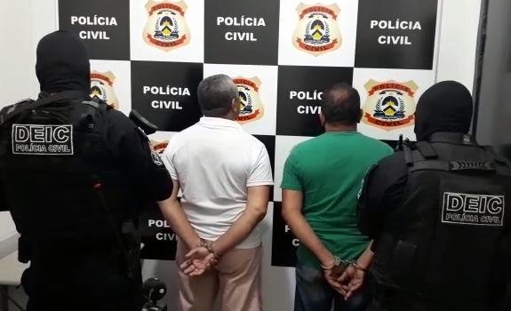 Polícia Civil deflagra operação Ergom Kimbor e prende suspeitos de roubo a carros-fortes no interior do Estado
