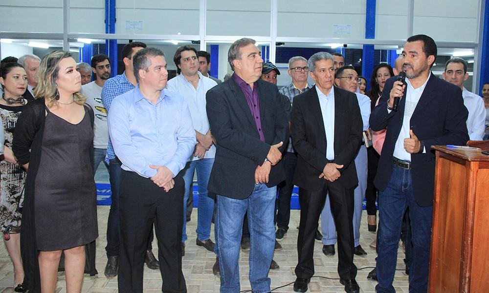 Wanderlei Barbosa prestigia inauguração da reforma do campus I da UnirG em Gurupi