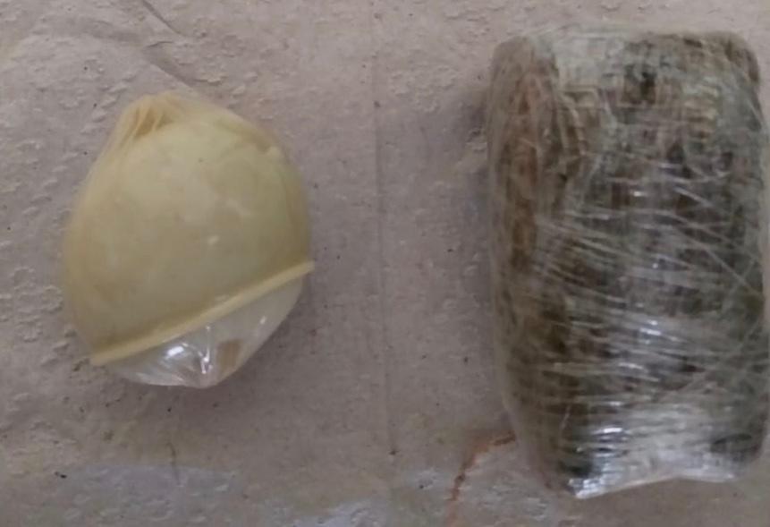 Agentes de Execução Penal flagram mulher tentando entrar com análogos à explosivo e drogas na CPP de Palmas