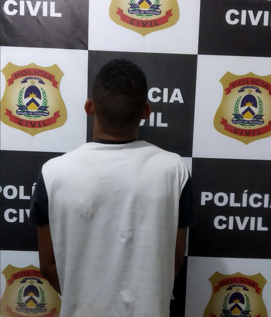 Polícia Civil prende homem suspeito de tentar matar três pessoas em Gurupi