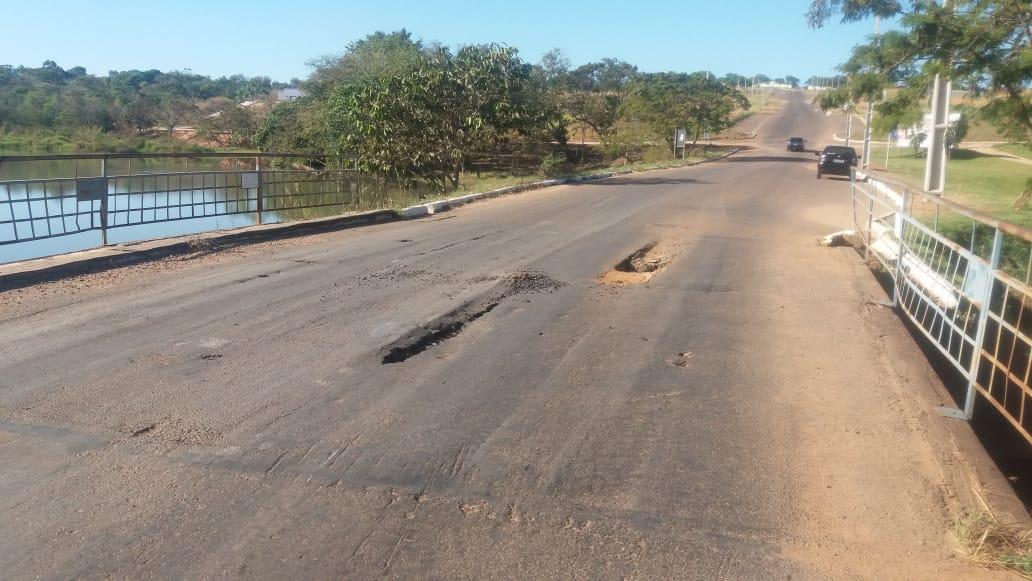 Ponte do Parque das Águas em Paraíso fica interditada para manutenção
