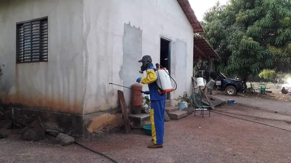 Saúde de Araguacema atua no combate às endemias