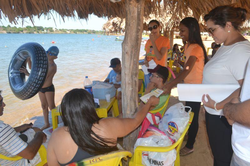 Ações contra violações de direitos são realizadas em praias do estado