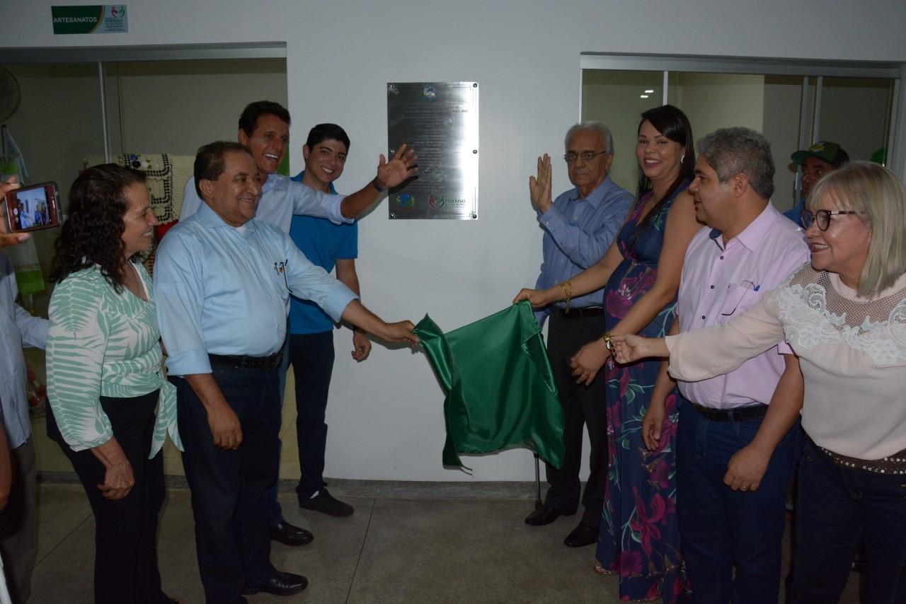 Secretário Messias Araújo participa de inauguração do Centro de Convivência dos Idosos em Paraíso