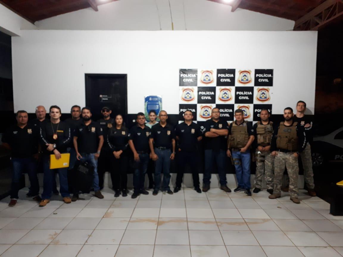 Nova fase da Operação Walking Dead cumpre mandados no Tocantins e nos estados do Pará e Maranhão