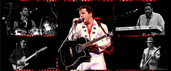 Tributo a Elvis Presley com The Burning Love Band