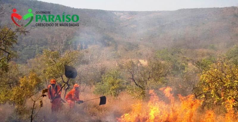 Prefeitura de Paraíso promove campanha: Todos Contra as Queimadas