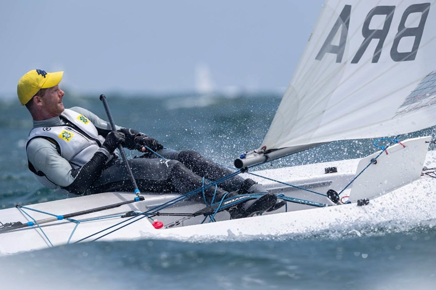 Scheidt veleja no top 10 na abertura do evento-teste para Olimpíada de Tóquio, em Enoshima