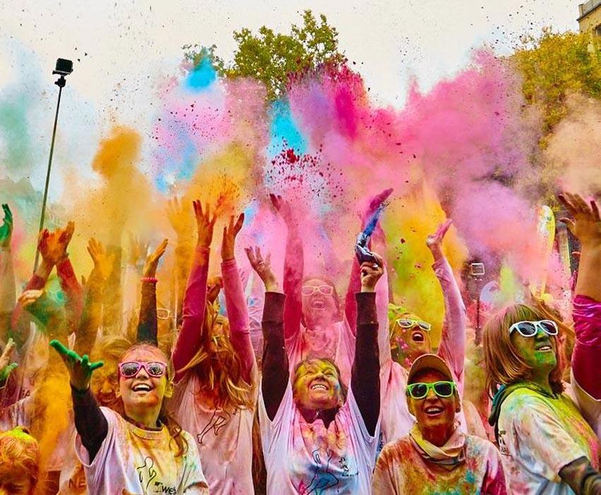 Color Race estende a festa do Dia da Criança na cidade de São Paulo
