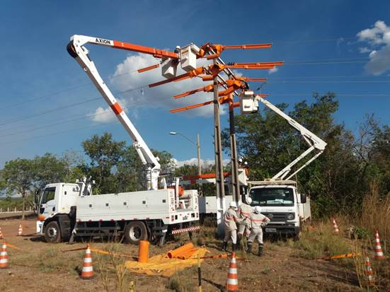 Energisa segue com obras de melhorias em mais 48 municípios no Tocantins
