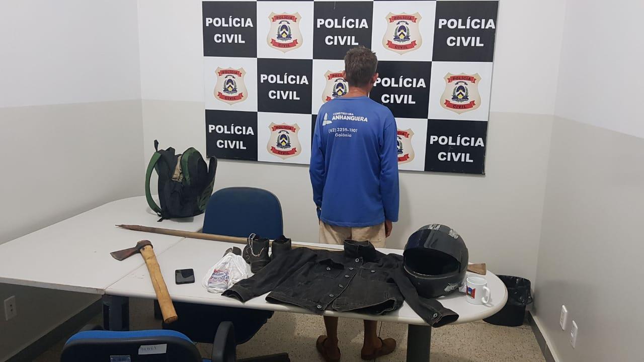 Em menos de 24 horas, Polícia Civil prende homem suspeito de homicídio em Palmas