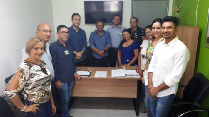 HDT-UFT recebe visita técnica para monitoramento do fluxograma de atendimento a meningites