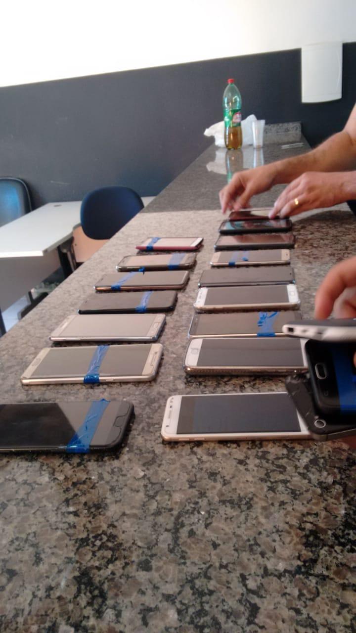 20 celulares furtados em show em Araguaína são recuperados em ação conjunta das Polícias Civil e Rodoviária Federal