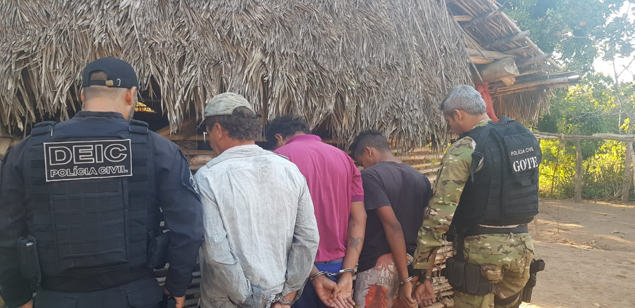 Polícia Civil prende 15º suspeito da Operação Medusa em Caseara