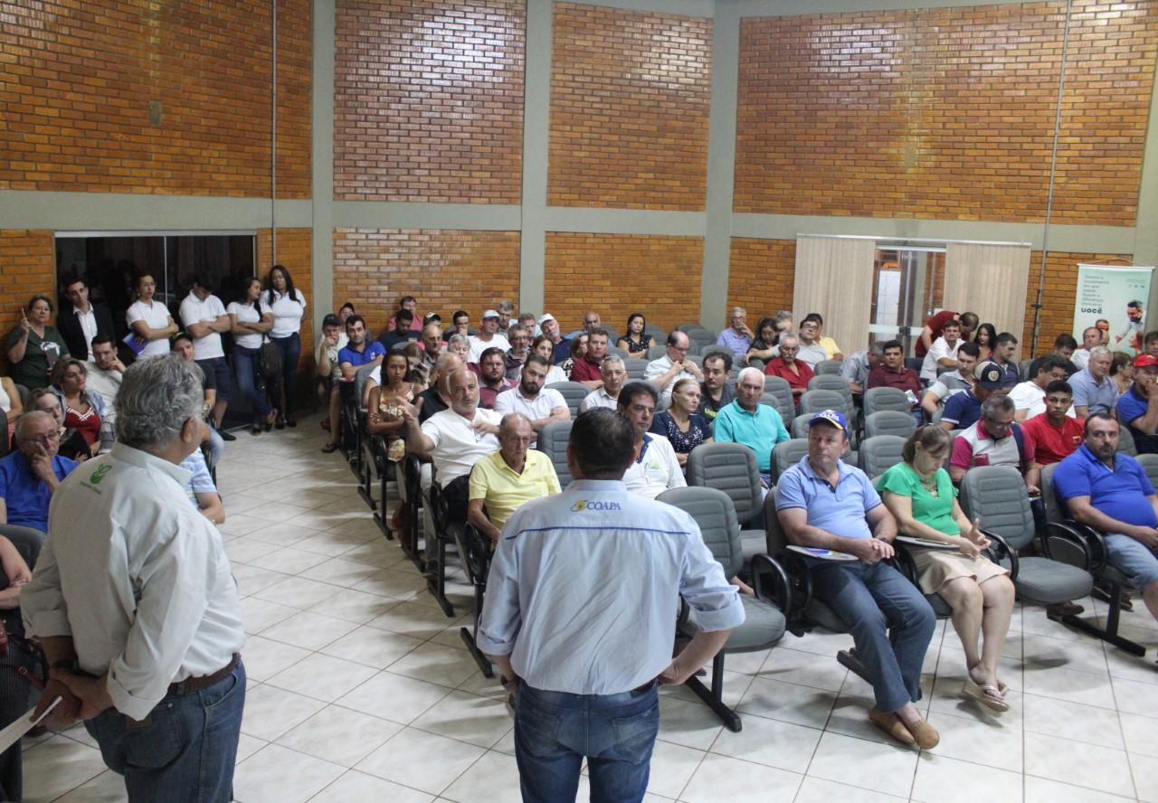 Coapa realiza Assembleia Geral Extraordinária e presta contas do 1º semestre